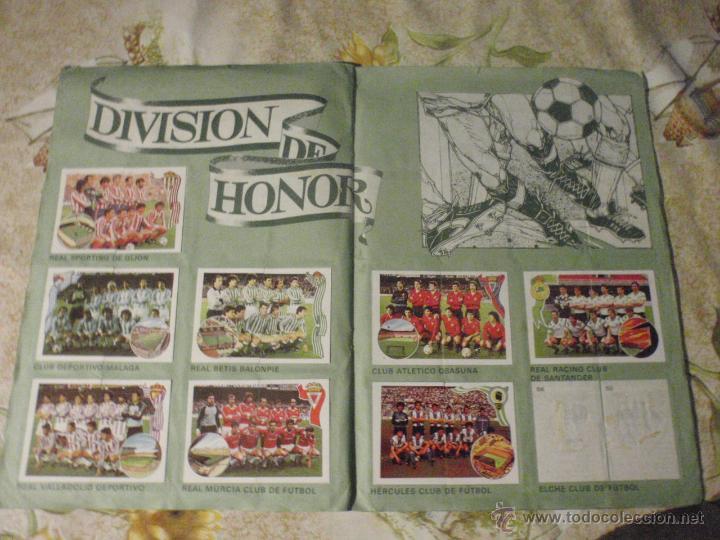 Coleccionismo deportivo: ALBUM de cromos de fútbol EDITORIAL MAGA LIGA 1984-85. CASI COMPLETO - Foto 9 - 46502659