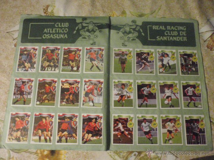 Coleccionismo deportivo: ALBUM de cromos de fútbol EDITORIAL MAGA LIGA 1984-85. CASI COMPLETO - Foto 12 - 46502659