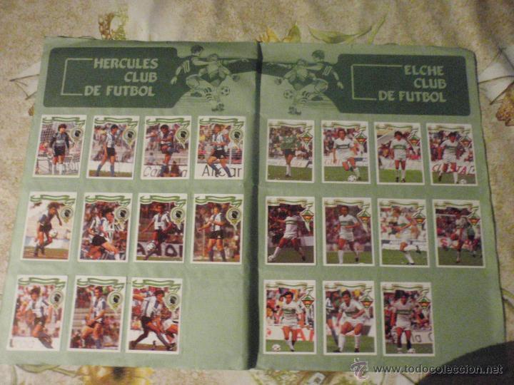 Coleccionismo deportivo: ALBUM de cromos de fútbol EDITORIAL MAGA LIGA 1984-85. CASI COMPLETO - Foto 13 - 46502659