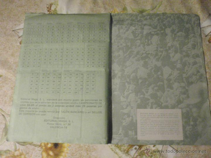 Coleccionismo deportivo: ALBUM de cromos de fútbol EDITORIAL MAGA LIGA 1984-85. CASI COMPLETO - Foto 14 - 46502659