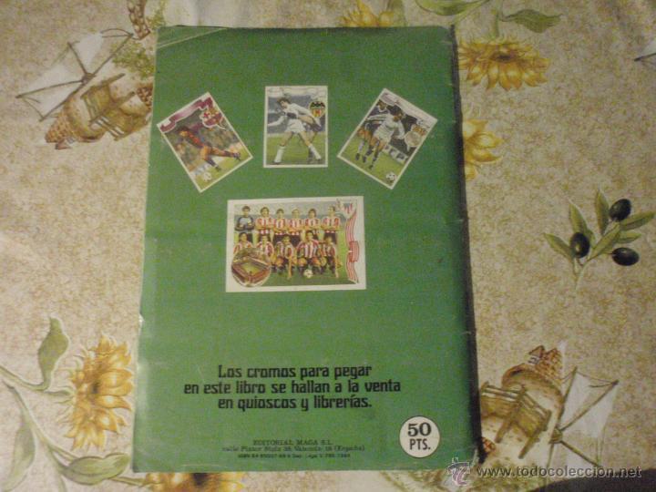Coleccionismo deportivo: ALBUM de cromos de fútbol EDITORIAL MAGA LIGA 1984-85. CASI COMPLETO - Foto 15 - 46502659