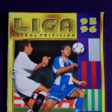 Coleccionismo deportivo: ALBUM FUTBOL LIGA 95-96. CONTIENE 256 CROMOS (MAS LOS DOBLES). EDIT ESTE.. Lote 46618885