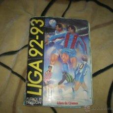 Coleccionismo deportivo: ALBUM DE LA LIGA 1992-93 DE ESTE CON MUCHOS COLOCAS. Lote 46695897