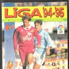 Coleccionismo deportivo: ALBUM DE CROMOS. LIGA 94-95 DE FÚTBOL PROFESIONAL A-ALB-1105. Lote 46767700