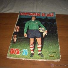 Coleccionismo deportivo: ALBUM DE LA LIGA 1975-76 DE FHER CON MUCHOS FICHAJES. Lote 46903786
