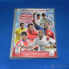 Coleccionismo deportivo: * ALBUM DE LA COLECCION OFICIAL DE TRADING CARDS MEGA CRACKS 2008-2009 CON 408 CROMOS *. Lote 46939280
