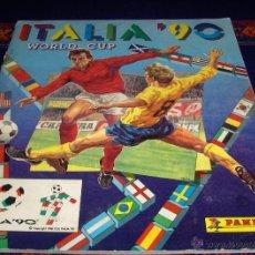 Coleccionismo deportivo: ITALIA 90 MUNDIAL 1990 WORLD CUP INCOMPLETO FALTAN 54 DE 448 CROMOS PANINI. REGALO EURO 2012 POLONIA. Lote 46973209