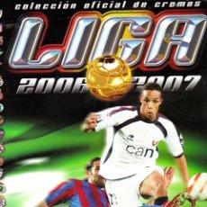 Coleccionismo deportivo: ALBUM ESTE 2006-2007 COMPLETO CON CROMOS MUY DIFICILES ( TODOS LOS FICHAJES). Lote 47083073