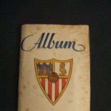 Coleccionismo deportivo: ALBUM - SEVILLA C. DE F. - 1946 1947 - 46 47 - 14 CROMOS - GRAFICAS SIERRA -. Lote 47184952