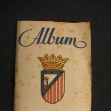 Coleccionismo deportivo: ALBUM - ATLETICO DE MADRID - 1946 1947 - 46 47 - 14 CROMOS - GRAFICAS SIERRA -. Lote 47185066