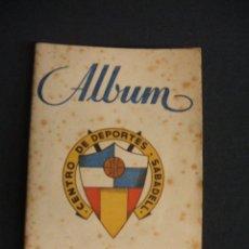 Coleccionismo deportivo: ALBUM - C.D. SABADELL - 1946 1947 - 46 47 - 13 CROMOS - GRAFICAS SIERRA -. Lote 47187708