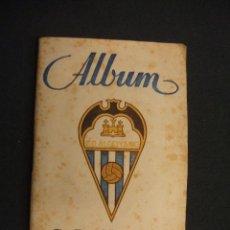 Coleccionismo deportivo: ALBUM - C. D. ALCOYANO - 1946 1947 - 46 47 - 9 CROMOS - GRAFICAS SIERRA -. Lote 47188854