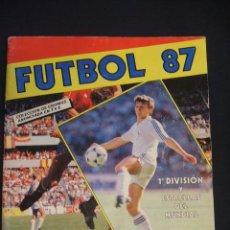 Coleccionismo deportivo: ALBUM DE CROMOS DE FUTBOL - FUTBOL 87 - PANINI - . Lote 47237857