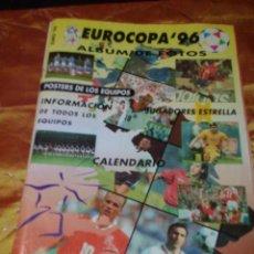 Coleccionismo deportivo: EUROCOPA 96 ÁLBUM DE FOTOS EUROCOPA ESPECIAL Nº 1.. Lote 47351432