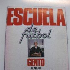 Coleccionismo deportivo: LOS ASES DE LA LIGA 1991-92. ESCUELA DE FUTBOL GENTO. INCOMPLETO. OBSEQUIO DE AS. . Lote 47534924
