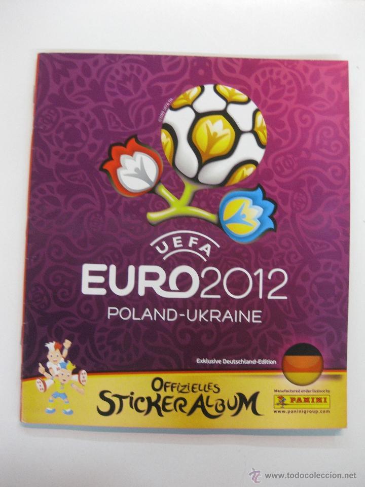ALBUM CROMOS FUTBOL PANINI. EURO 2012 UEFA. DEUTSCHLAN EDITION. VACIO POR ESTRENAR (Coleccionismo Deportivo - Álbumes y Cromos de Deportes - Álbumes de Fútbol Incompletos)