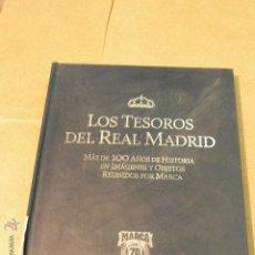Coleccionismo deportivo: LOS TESOROS DEL REAL MADRID MARCA VACIO. Lote 47578077