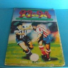 Coleccionismo deportivo: ALBUM LIGA 93 / 94 EDICIONES ESTE CON 257 CROMOS. Lote 47850782