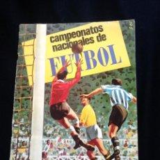 Coleccionismo deportivo: ALBUM DE CROMOS. CAMPEONATOS NACIONALES DE FUTBOL 1968. INCOMPLETO. Lote 47895030
