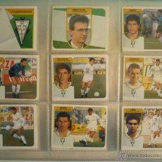 Coleccionismo deportivo: LOTE ESTE 1991-92. 450 CROMOS DIFERENTES - EDICIONES ESTE 91-92 CASI COMPLETA. FALTAN 9 CROMOS.. Lote 29660923