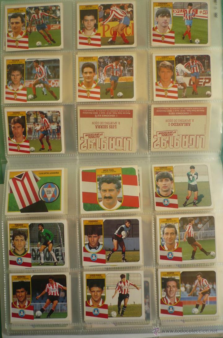 Coleccionismo deportivo: LOTE ESTE 1991-92. 447 CROMOS DIFERENTES - EDICIONES ESTE 91-92 CASI COMPLETA. FALTAN 12 CROMOS. - Foto 11 - 29660923