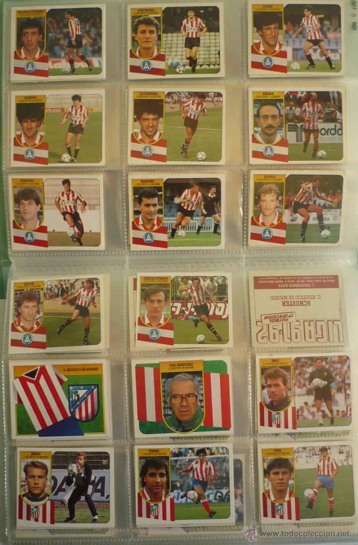 Coleccionismo deportivo: LOTE ESTE 1991-92. 447 CROMOS DIFERENTES - EDICIONES ESTE 91-92 CASI COMPLETA. FALTAN 12 CROMOS. - Foto 12 - 29660923