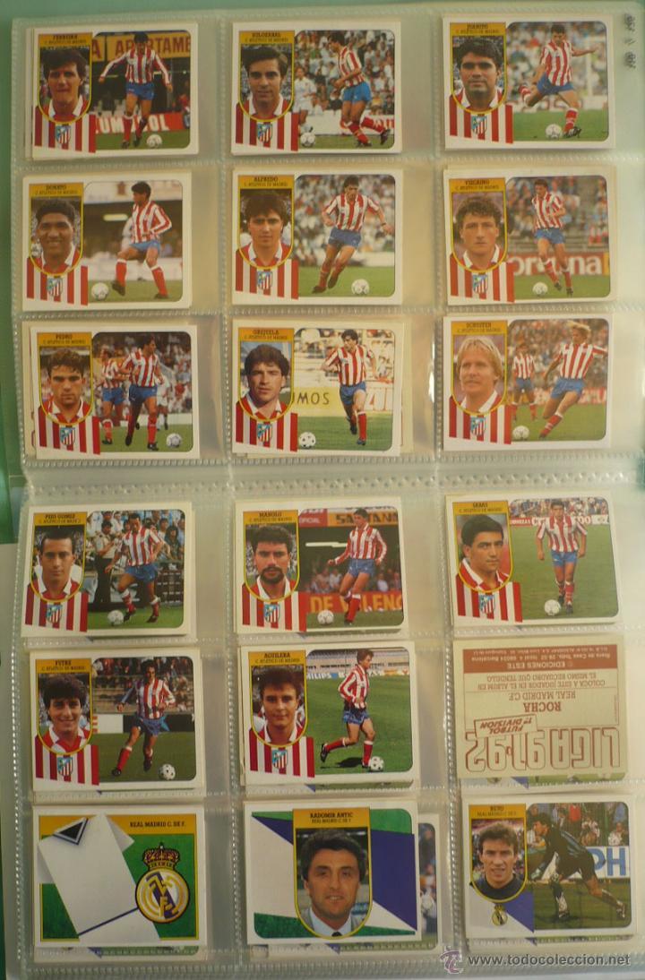 Coleccionismo deportivo: LOTE ESTE 1991-92. 447 CROMOS DIFERENTES - EDICIONES ESTE 91-92 CASI COMPLETA. FALTAN 12 CROMOS. - Foto 13 - 29660923