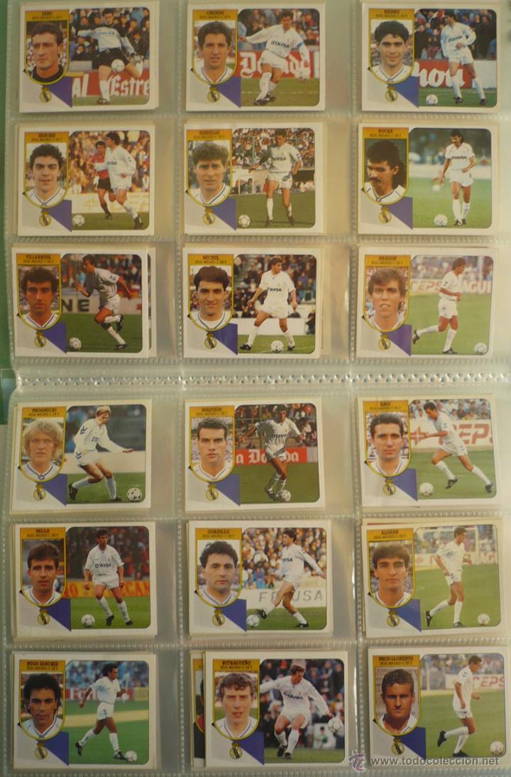 Coleccionismo deportivo: LOTE ESTE 1991-92. 447 CROMOS DIFERENTES - EDICIONES ESTE 91-92 CASI COMPLETA. FALTAN 12 CROMOS. - Foto 14 - 29660923