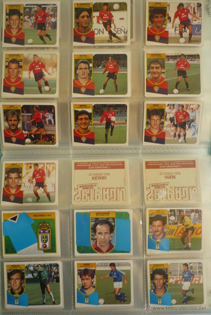 Coleccionismo deportivo: LOTE ESTE 1991-92. 447 CROMOS DIFERENTES - EDICIONES ESTE 91-92 CASI COMPLETA. FALTAN 12 CROMOS. - Foto 17 - 29660923