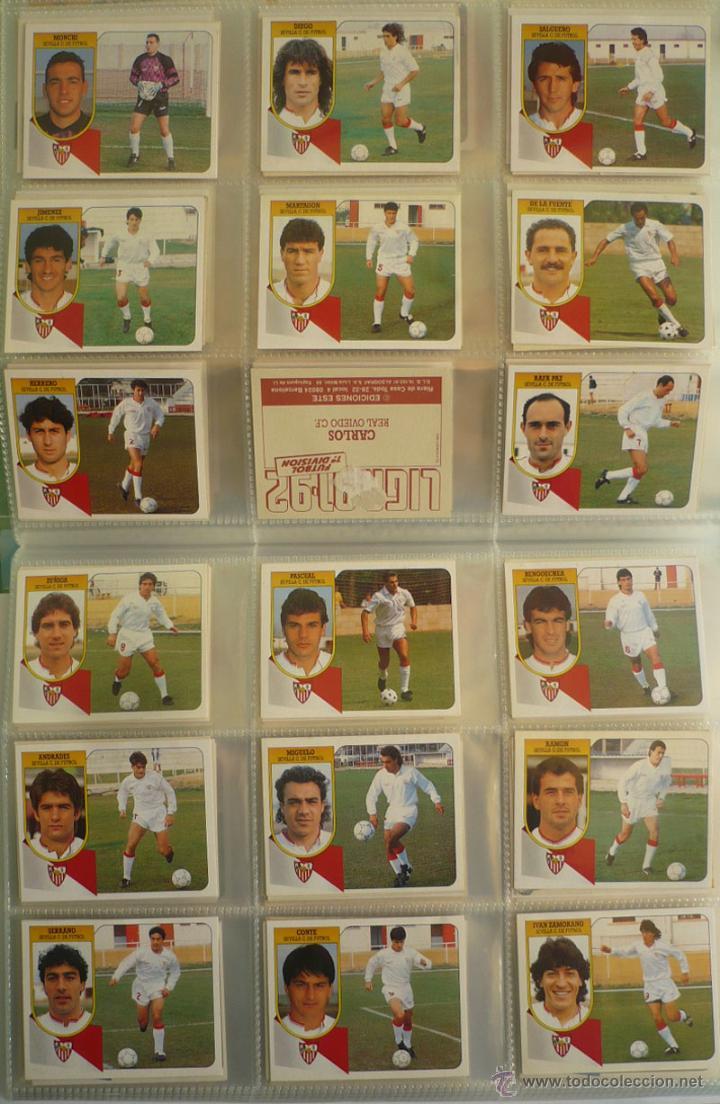 Coleccionismo deportivo: LOTE ESTE 1991-92. 447 CROMOS DIFERENTES - EDICIONES ESTE 91-92 CASI COMPLETA. FALTAN 12 CROMOS. - Foto 19 - 29660923