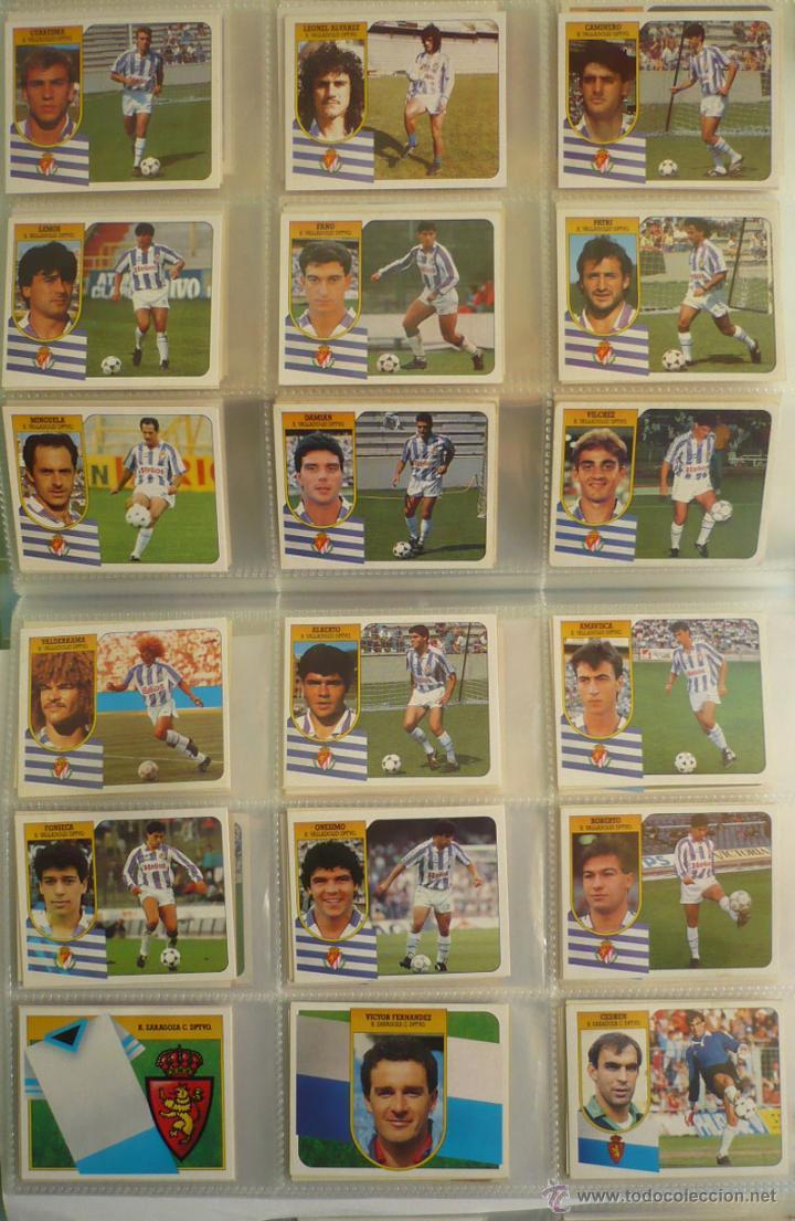 Coleccionismo deportivo: LOTE ESTE 1991-92. 447 CROMOS DIFERENTES - EDICIONES ESTE 91-92 CASI COMPLETA. FALTAN 12 CROMOS. - Foto 24 - 29660923