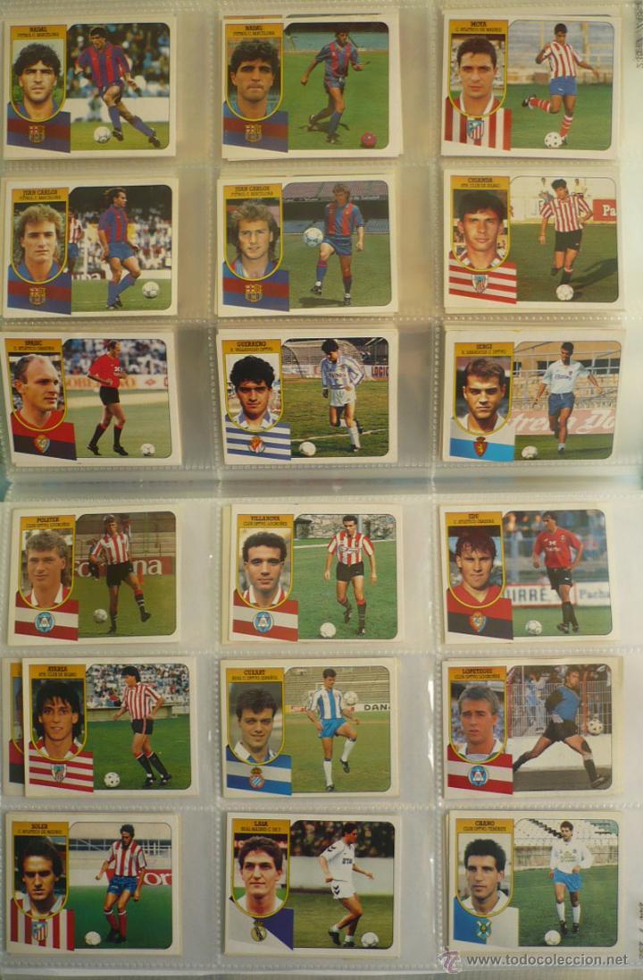 Coleccionismo deportivo: LOTE ESTE 1991-92. 447 CROMOS DIFERENTES - EDICIONES ESTE 91-92 CASI COMPLETA. FALTAN 12 CROMOS. - Foto 26 - 29660923
