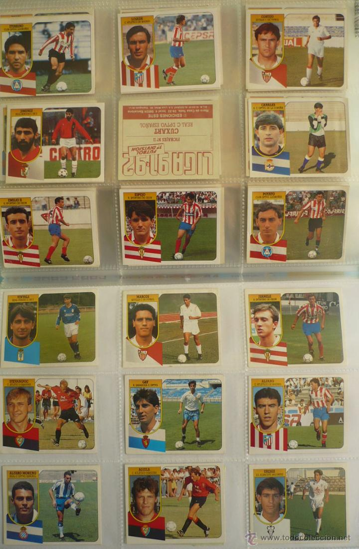 Coleccionismo deportivo: LOTE ESTE 1991-92. 447 CROMOS DIFERENTES - EDICIONES ESTE 91-92 CASI COMPLETA. FALTAN 12 CROMOS. - Foto 27 - 29660923