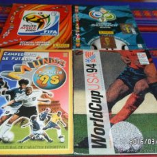 Coleccionismo deportivo: WORLD CUP USA 94 COLLECTOR'S CHOICE MUNDIAL FRANCIA 98 ED. ESTADIO ALEMANIA 2006 SUDÁFRICA 2010.. Lote 48250025