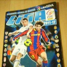 Coleccionismo deportivo: FUTBOL ALBUM LIGA 2011 - 2012 LIGA BBVA. Lote 48327423
