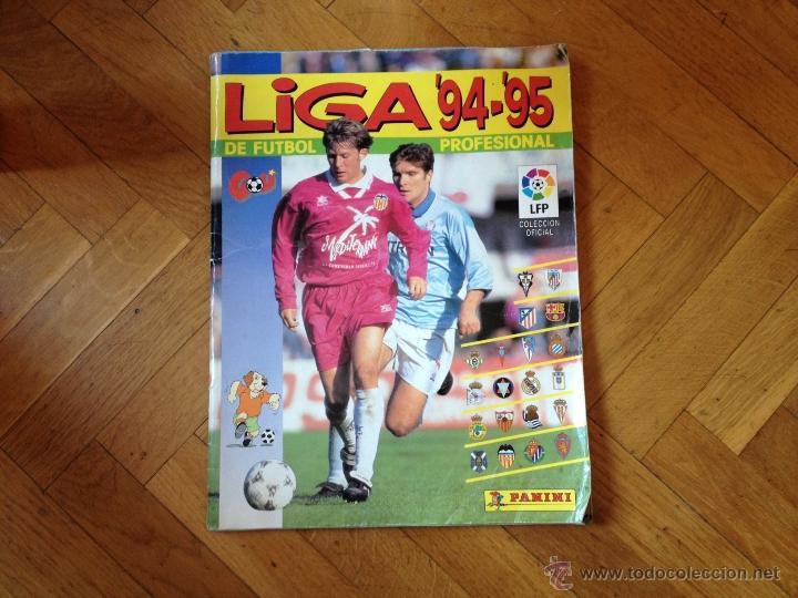 PANINI (NO ESTE) TEMPORADA 1994 1995 - 94 95 - LEER DESCRIPCION (Coleccionismo Deportivo - Álbumes y Cromos de Deportes - Álbumes de Fútbol Incompletos)