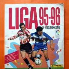 Coleccionismo deportivo: ALBUM DE CROMOS INCOMPLETO - FUTBOL - LIGA 1995-1996, 95-95 - PANINI -. Lote 48531194