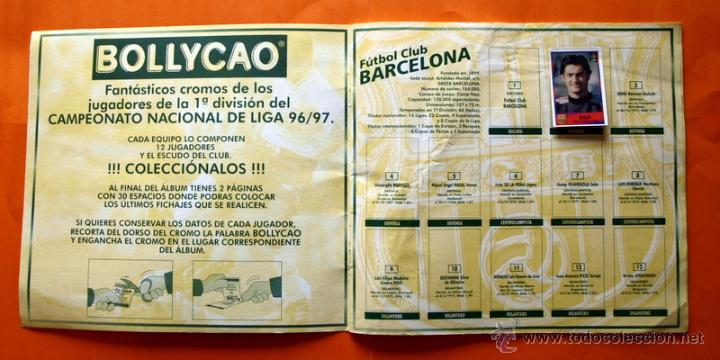 Coleccionismo deportivo: ALBUM DE CROMOS INCOMPLETO - FUTBOL LIGA 1996-1997, 96-97 - BOLLYCAO - - Foto 3 - 48547957