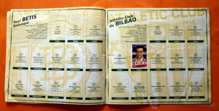 Coleccionismo deportivo: ALBUM DE CROMOS INCOMPLETO - FUTBOL LIGA 1996-1997, 96-97 - BOLLYCAO - - Foto 4 - 48547957
