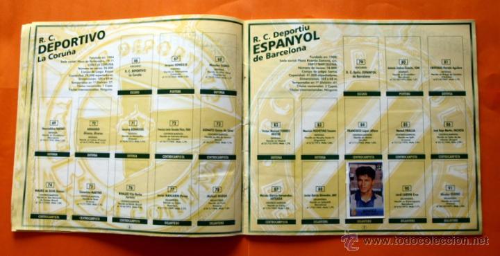 Coleccionismo deportivo: ALBUM DE CROMOS INCOMPLETO - FUTBOL LIGA 1996-1997, 96-97 - BOLLYCAO - - Foto 6 - 48547957