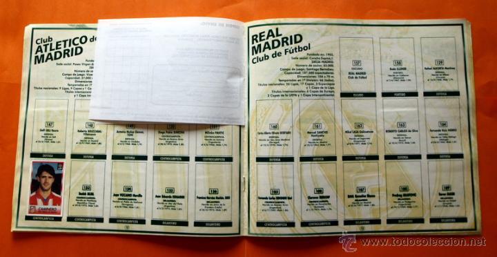 Coleccionismo deportivo: ALBUM DE CROMOS INCOMPLETO - FUTBOL LIGA 1996-1997, 96-97 - BOLLYCAO - - Foto 9 - 48547957