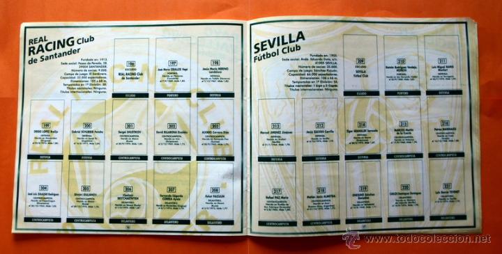 Coleccionismo deportivo: ALBUM DE CROMOS INCOMPLETO - FUTBOL LIGA 1996-1997, 96-97 - BOLLYCAO - - Foto 11 - 48547957