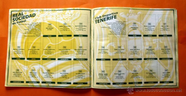 Coleccionismo deportivo: ALBUM DE CROMOS INCOMPLETO - FUTBOL LIGA 1996-1997, 96-97 - BOLLYCAO - - Foto 12 - 48547957