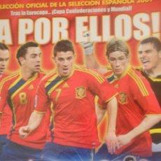 Coleccionismo deportivo: COLECCIÓN OFICIAL DE LA SELECCIÓN ESPAÑOLA 2009 - ¡A POR ELLOS! · CONTIENE 25 CROMOS - PANINI. Lote 48714722