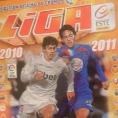 Coleccionismo deportivo: LIGA 2010-2011 · CONTIENE 146 CROMOS - COLECCIONES ESTE & PANINI. Lote 48716070