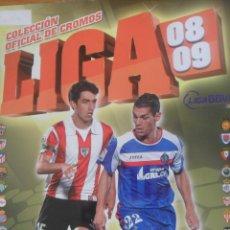 Coleccionismo deportivo: LIGA 2008-2009 · CONTIENE 90 CROMOS - COLECCIONES ESTE & PANINI. Lote 48716172