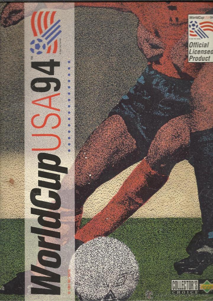 ALBUM DEL CAMPEONATO DEL MUNDO USA 94 SOLO FALTAN LOS Nº 184 Y 246 VER FOTOS (Coleccionismo Deportivo - Álbumes y Cromos de Deportes - Álbumes de Fútbol Incompletos)