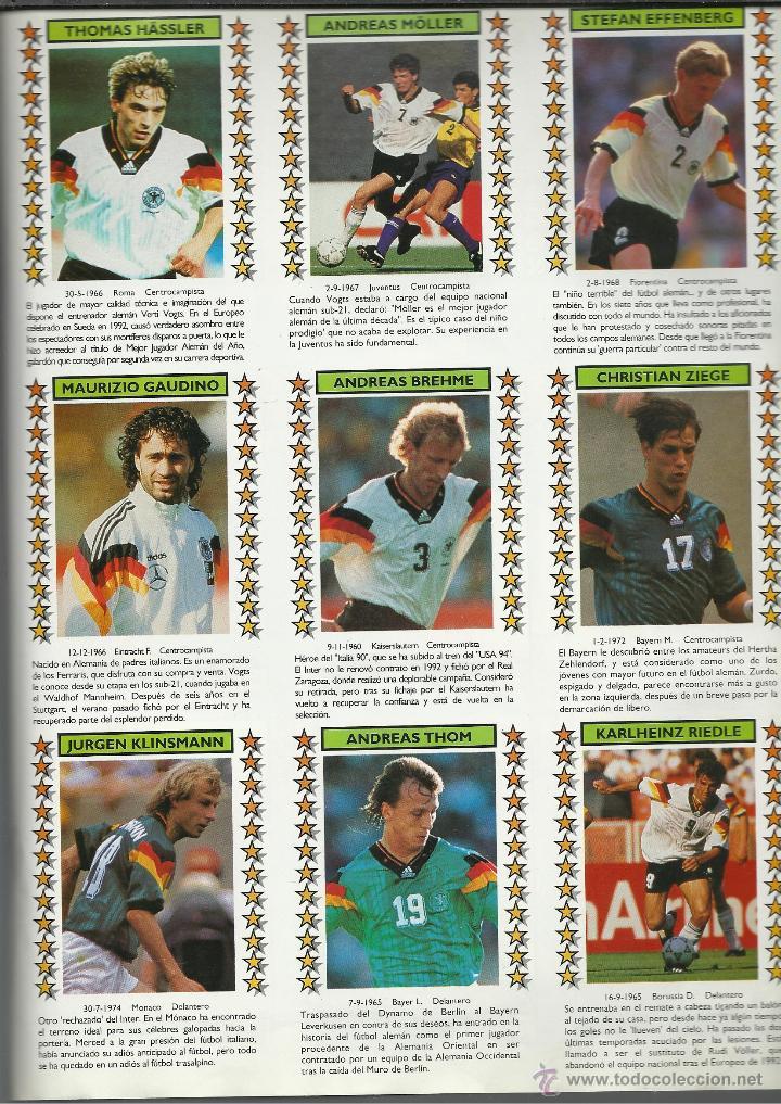 Coleccionismo deportivo: ALBUM DEL CAMPEONATO DEL MUNDO USA 94 SOLO FALTAN LOS Nº 184 Y 246 VER FOTOS - Foto 5 - 48719446
