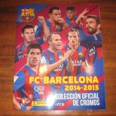 Coleccionismo deportivo: ALBUM PLANCHA - FC BARCELONA 2014-2015 PANINI COLECCION OFICIAL DE CROMOS BARÇA SIN CROMOS ESTE FOTO. Lote 81212743