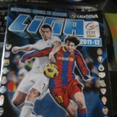 Coleccionismo deportivo: ALBUM DE CROMOS, FUTBOL, LIGA 2011-2012, BBVA, ALBUM OFICIAL, PANINI,. Lote 48880052